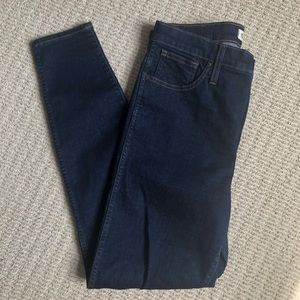 "Madewell 10"" High-Rise Skinny Jean, Size 31"